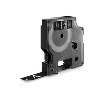 DYMO D1 Lettertape 45021 Wit op Zwart 12mm (Huismerk)