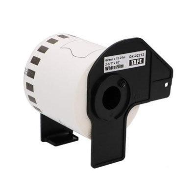 Brother DK-22212 Continue Filmtape 62mmx15,24m Wit (Huismerk)