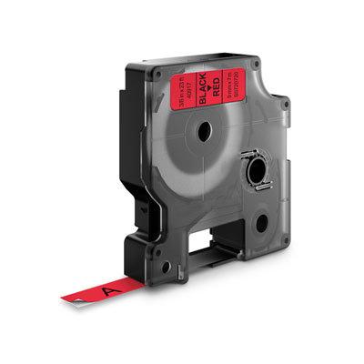 DYMO D1 Lettertape 40917 Zwart op Rood 9mm (Huismerk)