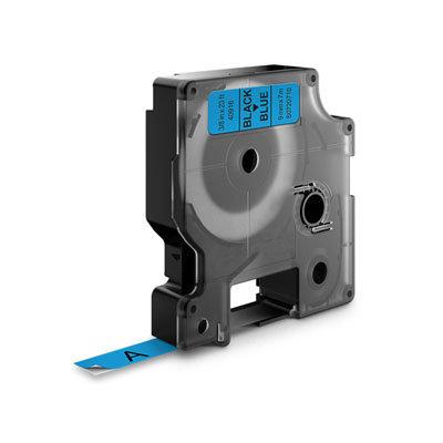 Dymo D1 Lettertape 43610 Zwart op Transparant 6mm (Huismerk)