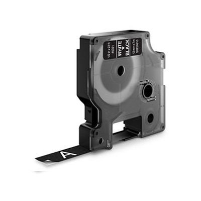 Dymo D1 Lettertape 40921 Wit op Zwart 9mm (Huismerk)