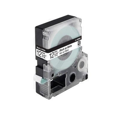 Epson LC-4WBN9 (C53S625416) Tape Zwart Op Wit 12 mm (Huismerk)