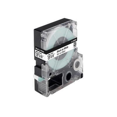 Epson LC-3WBN9 (C53S624402) Tape Zwart Op Wit 9 mm (Huismerk)